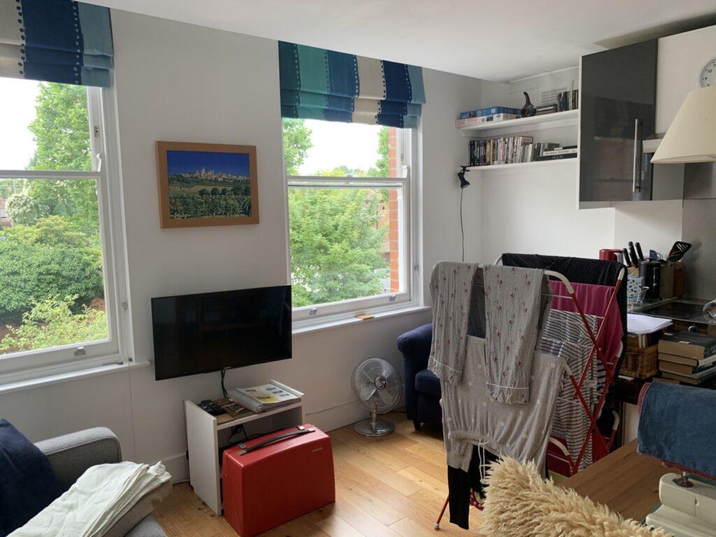1 Declutter Bedroom Before