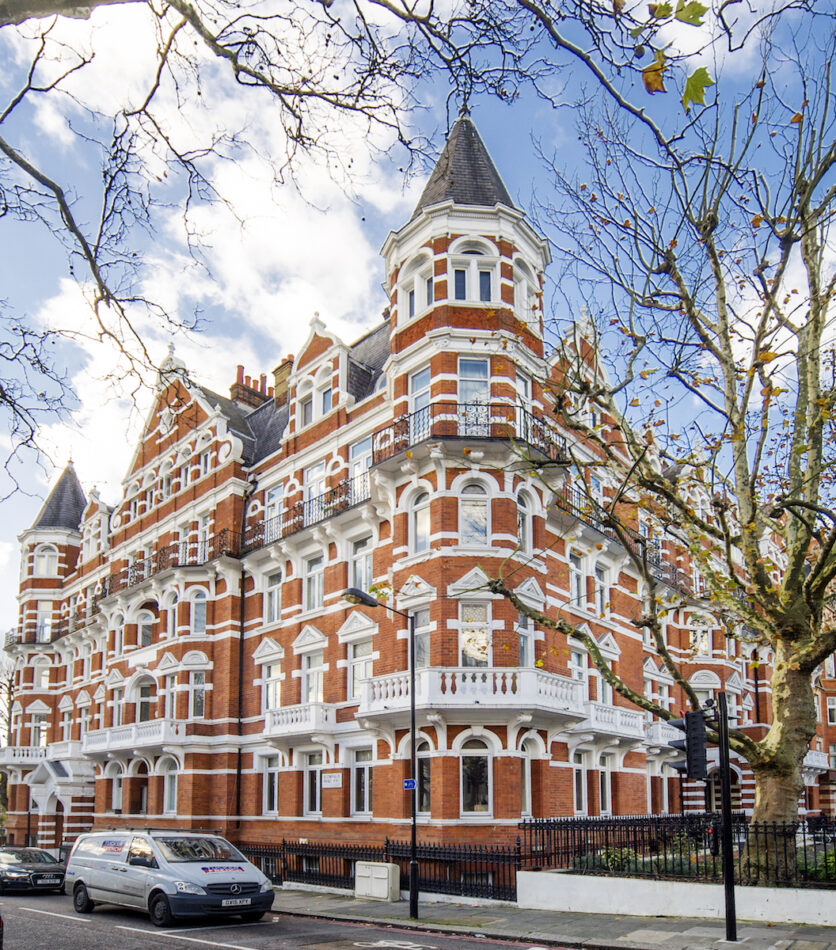 Cunningham court flat to let in Maida Vale - Exterior