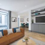 3 Bed flat to let in Kensington
