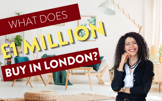 1 million pound properties in London