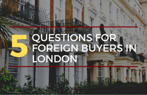 5 Questions To Ask Before Buying A London Property Blog