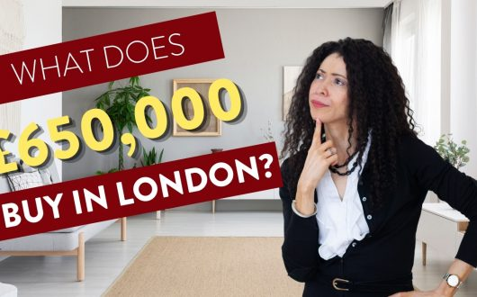 What does 650k buy you in london